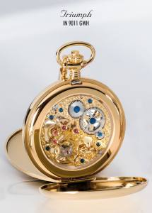 Ingersoll IN9011GWH Pocket Watch Triumph Rückansicht